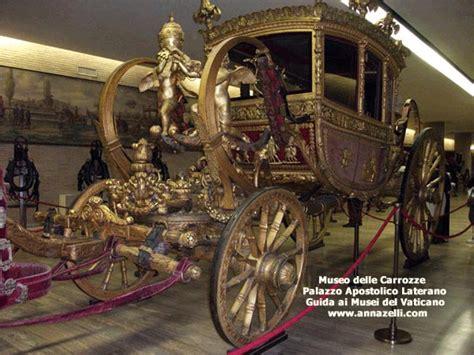 museo delle carrozze roma museo storico vaticano palazzo laterano roma museo