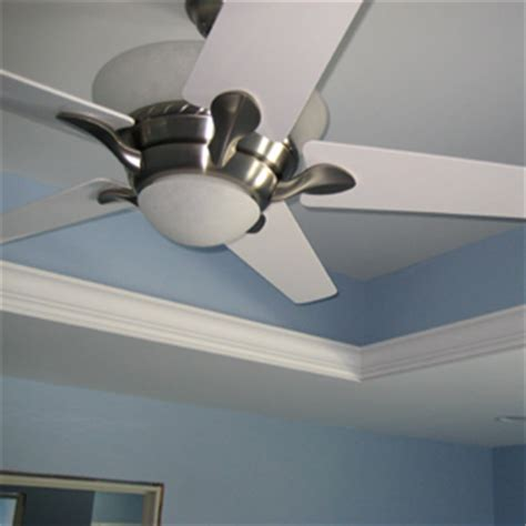 Ceiling Fan Tray Ceiling Tray Ceilings Add Elegance To Rooms