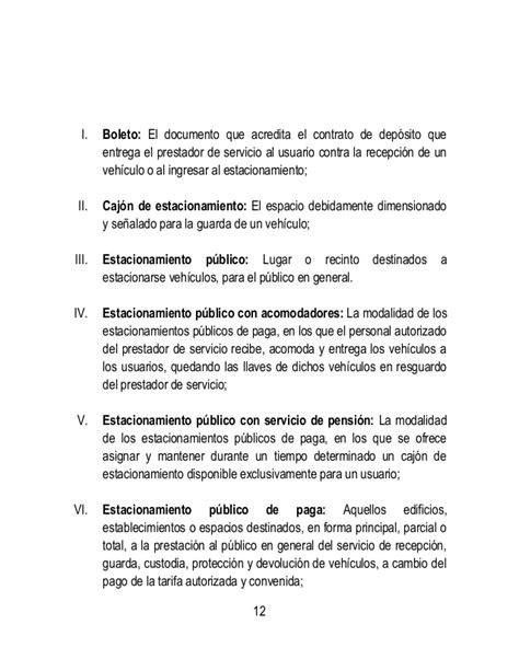 contrato de espacio para estacionamiento leyescompy iniciativa de ley de estacionamientos publicos en el
