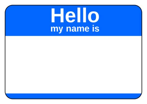 name tags name tag label templates hello my name is templates