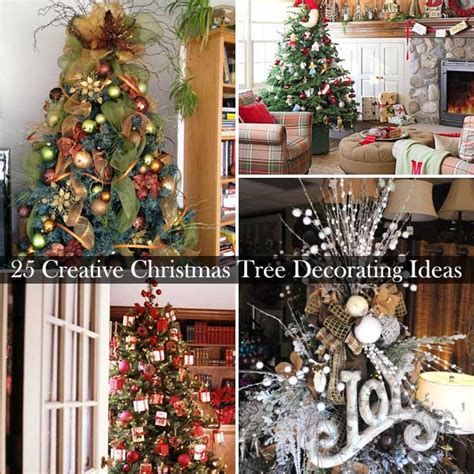 themed tree ideas creative decorating 25 creative and beautiful tree decorating ideas