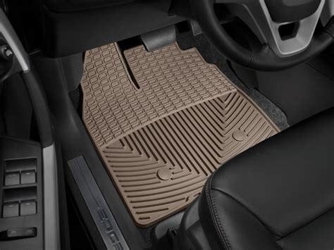 Ford Edge Floor Mats 2013 by Weathertech All Weather Floor Mats Ford Edge 2011 2013