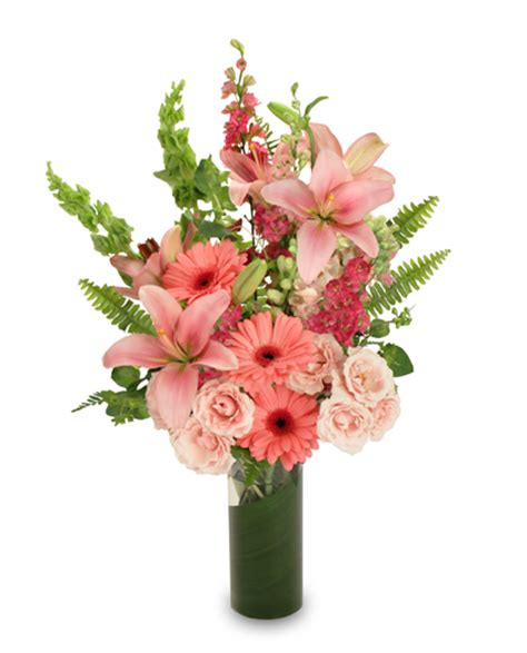 s day flower arrangements pink persuasion arrangement s day flower shop network