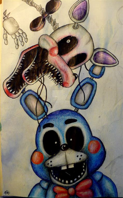 mangle five nights at freddys fandom mangle and bonnie five nights at freddy s by horren on