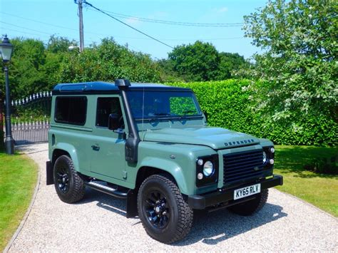 green land rover defender used green land rover defender for sale essex