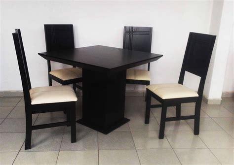 imagenes sillas minimalistas comedor mesa y 4 sillas chocolate nuevo moderno madera
