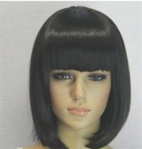 hairstyle with wigs with bangs for african women 1000 ideas about pageboy haircut on pinterest long