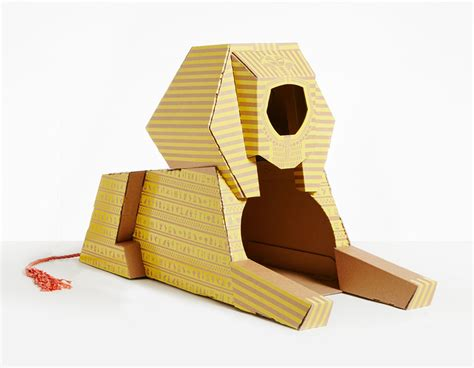 cardboard cat house 7 cardboard cat houses inspired by famous architectural landmarks bored panda