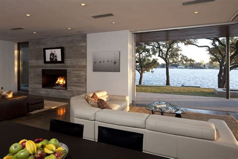 Living Room Ideas With A View 20 Salas Contempor 226 Neas Para Voc 234 Se Inspirar Limaonagua