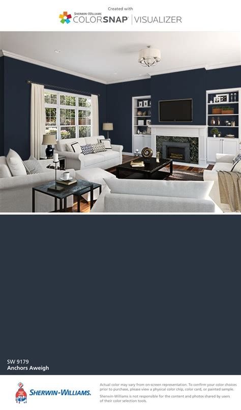 i found this color with colorsnap 174 visualizer for iphone by sherwin williams anchors aweigh sw