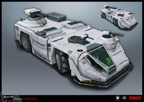syndicate car syndicate concept vehicle apc by torvenius on deviantart