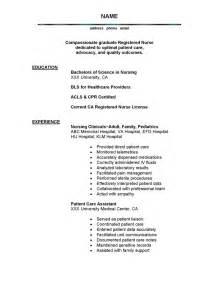 resume nursing - Good Nursing Resume Examples