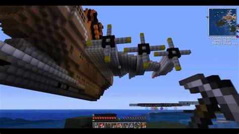 nave volante minecraft let s play 3 sulla nave volante