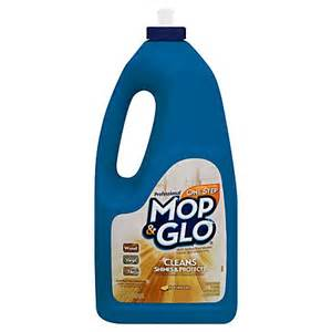 professional mop glo triple action floor shine cleaner 64