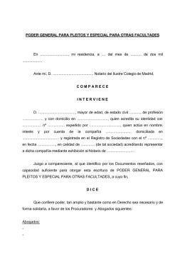que es una carta poder notarial para pleitos y cobranzas poder notarial para pleitos sociedad financera voltors s a