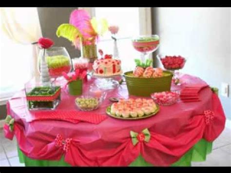 table decorations for parties birthday party table decoration ideas youtube