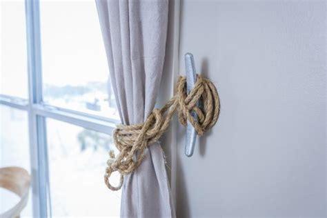 beach curtain tie backs nautical curtain tie backs hgtv