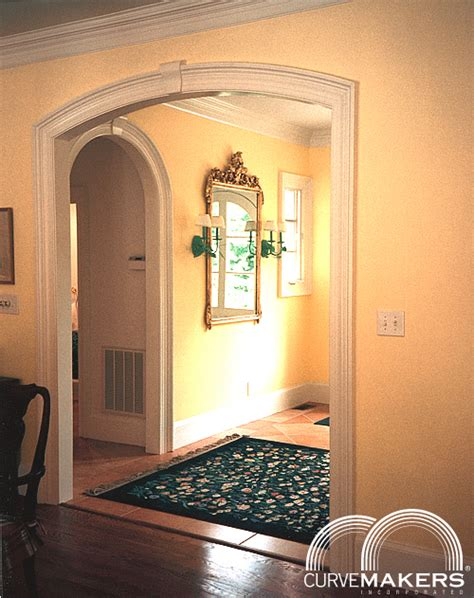 Interior Door Archways Curvemakers Continuous Molding Arch Kits Curvemakers Patented Arch Kits Wood Arches D I Y