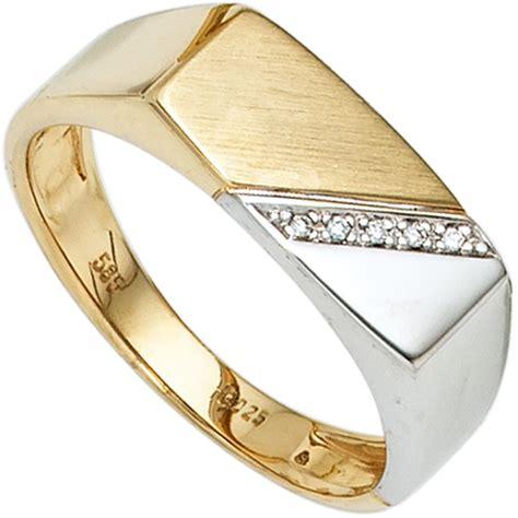 Ring Herren by Herrenring Gold Diamant Preisvergleich Die Besten