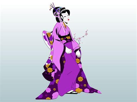 geisha clipart geisha femme maquillage vecteur t 233 l 233 charger des vecteurs