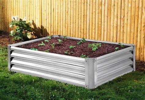 Steel Garden Nz Steel Frame Raised Garden Bed Grabone Nz