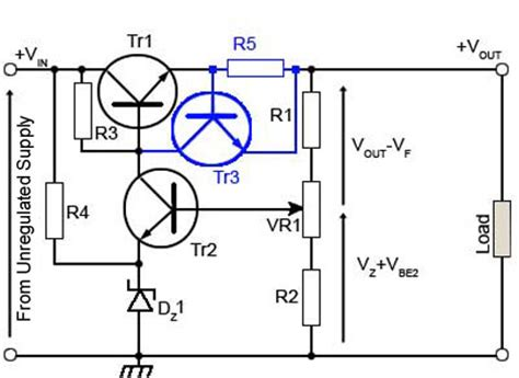 transistor limiter open series circuit diagram open free engine image for user manual