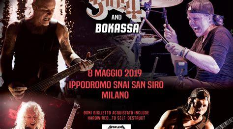 metallica asia tour 2019 biglietti metallica worldwired tour 2019