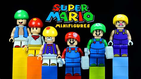 Diskon Figure Mario Bross Luigi lego mario bros knockoff minifigures with mario