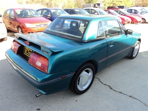automobile air conditioning service 1992 mercury capri regenerative braking 1992 mercury capri xr2 turbo for sale in cincinnati oh stock tr10053
