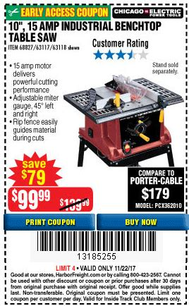 harbor freight table saw coupon harbor freight table saw coupon 100 images harbor