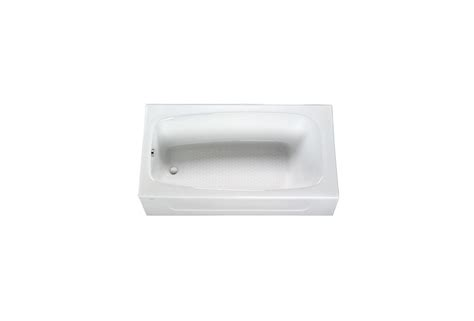 Toto Cast Iron Bathtub by Toto Fby1715lp 01 Cotton 5 5 Foot Cast Iron Three Wall