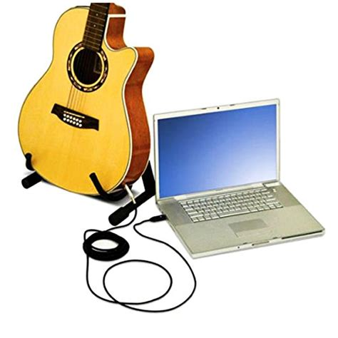 Garageband Export Mono Usb Guitar Cable Valinks Usb Interface To 6 35mm 1 4
