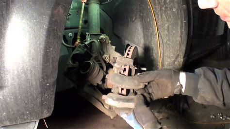 dodge avenger front brakes  rotors youtube