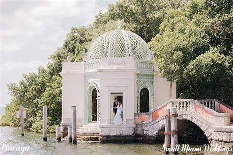Vizcaya Daytime Wedding   Small Miami Weddings