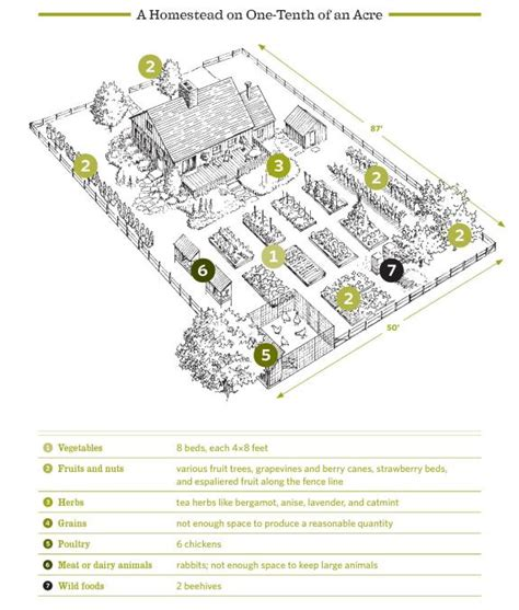 one acre spread how many homestead layout acre homestead layout and the backyard homestead ethical organic recipes for holistic wellness healthy republic