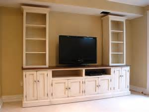 tv wall unit tv center wood tv wall unit hand painted media center