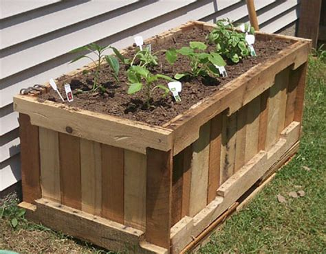 Pallet Planter Box Plans by 25 Easy Diy Plans And Ideas For A Wood Pallet