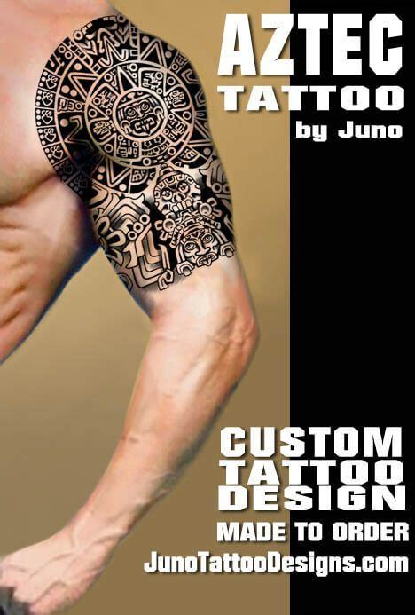 aztec tribal armband tattoos best 20 aztec tribal tattoos ideas on