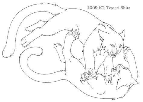 warrior cat template free warrior cat clan coloring pages