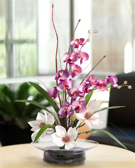 artificial flower decoration for home what s the center of attention in your room d 233 cor