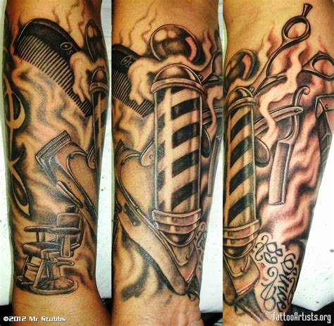 hustle tattoo best barber shop themed s hair news network