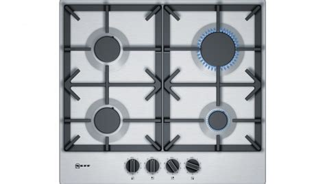 Hobs And Knobs by Neff T26ds49no Gas Hob With Knobs And Casy Iron Pan
