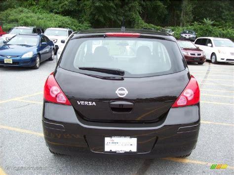 nissan versa black 2010 black nissan versa 1 8 s hatchback 35222249