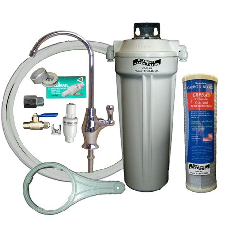 Water Filter For The Sink by Clarence Water Filters Australia Qmp1 4sus Single