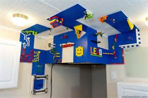 diy vertical lego building area on the wall amp ceiling