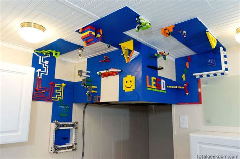 lego pattern ideas diy vertical lego building area on the wall ceiling