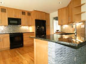 Light Maple Cabinets With Granite Honey Oak Kitchen Cabinets Exciting Maple With Pictures