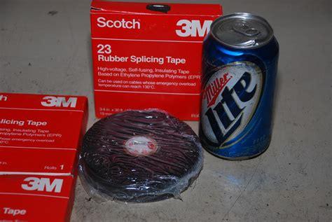 Scotch 23 3m nos scotch 3m 23 rubber splicing 3 4 quot x 30 ft inv 9925
