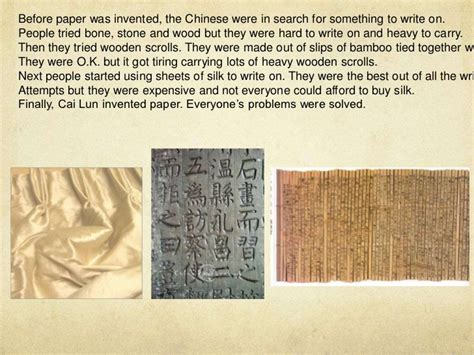 Who Invented Paper - isabel424 the invention of paper presentation ver 3