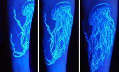 17 awesome glow in the dark tattoos visible under black 1126855 artist emberfan11 bindi blushing clothes